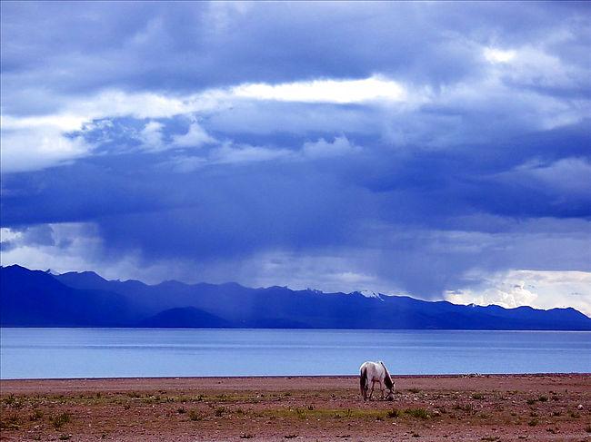 lago-Nam Tso-paraíso-azul 1