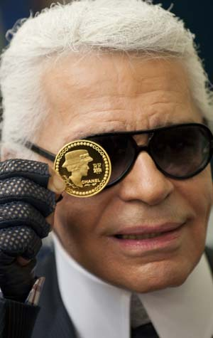 Karl Lagerfeld Designs Coin To Commemorate Coco Chanel
