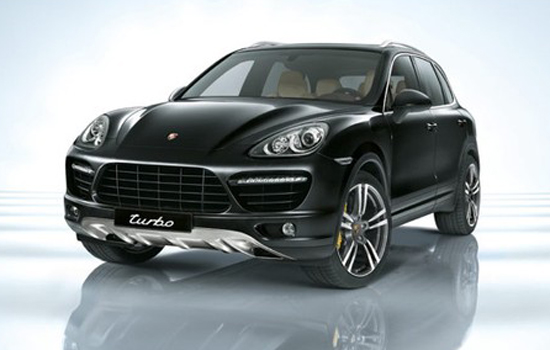 Porsche Cayenne Turbo,one of the 'Top 10 most expensive trucks of 2012'.