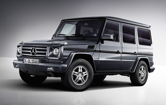 Mercedes-Benz G550,one of the 'Top 10 most expensive trucks of 2012'.