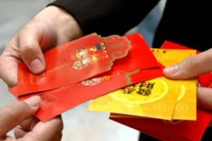 Giving Red Envelopes