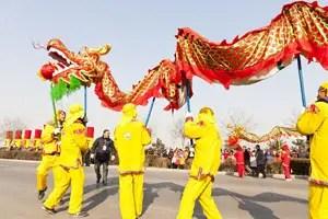 chinese dragon dances history