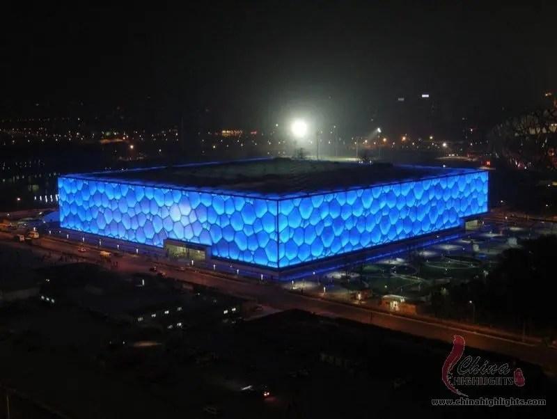 Beijing Water Cube The National Aquatics Center
