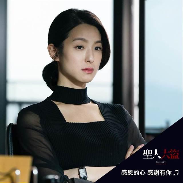 賴雅妍飾演金融界女強人,深沉神秘又兼具智慧。(雙喜電影提供)