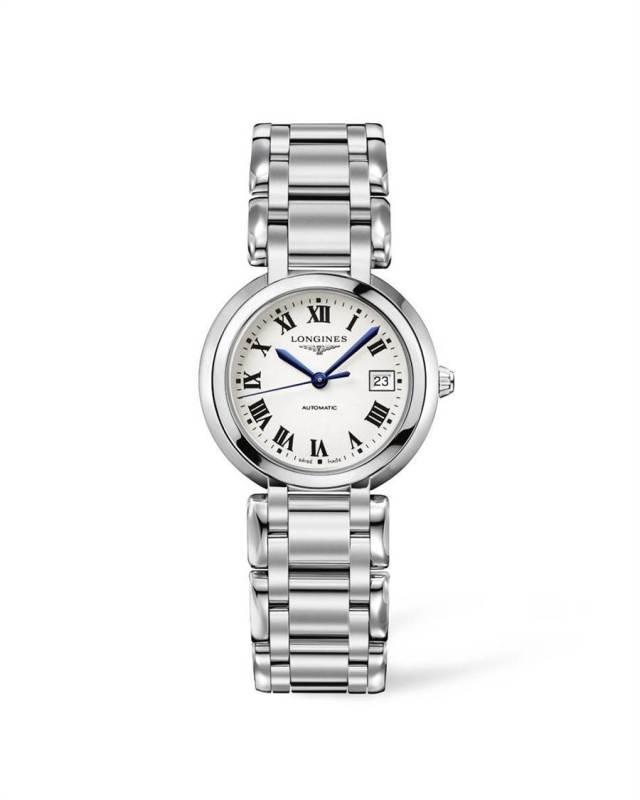 曾之喬在戲中配戴的浪琴表PrimaLuna新月系列女仕腕表,5萬2200元。(Longines提供)