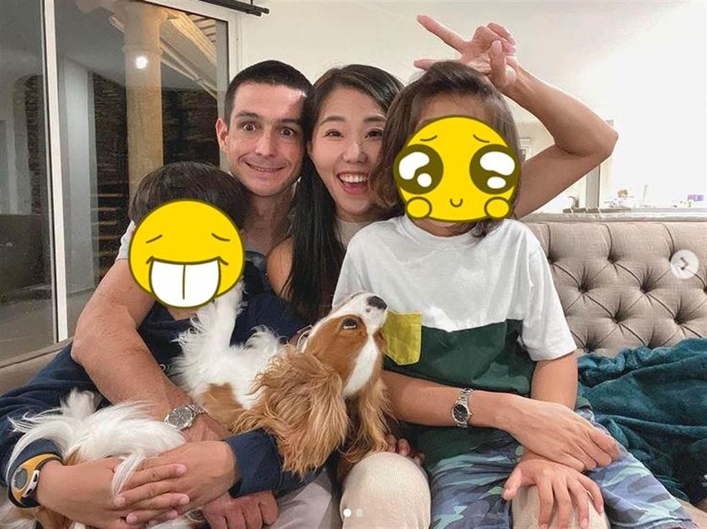 亞歷媽常分享一家人在法國的生活,受到許多網友喜愛。(圖/翻攝自IG)