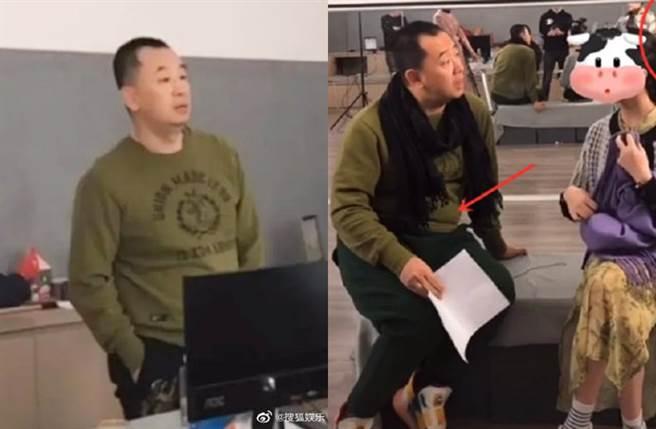黃海波近年改當表演班講師。(圖/翻攝自搜狐娛樂微博)
