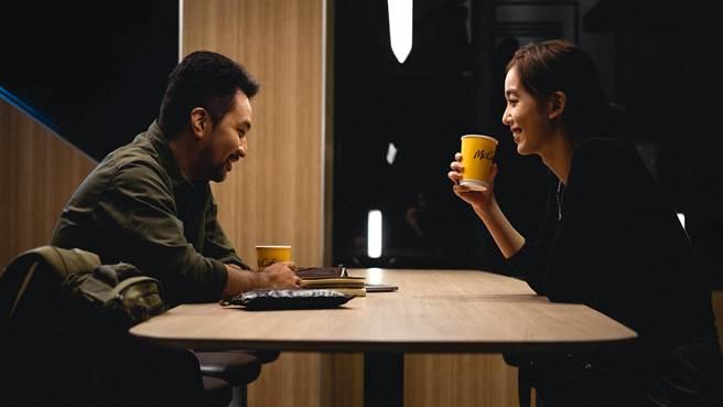 陳庭妮、黃健瑋合作麥當勞《從喝杯咖啡開始》迷你劇集。(麥當勞McCafé 提供)