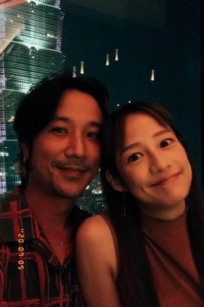 簡嫚書和髮型師老公雲昌隆結婚4年依舊甜蜜。(經紀人提供)