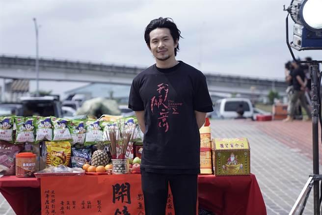 姚淳耀參與新戲《我願意》開鏡儀式。(絡思本娛樂製作公司提供)