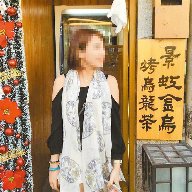 在屏东市一次车祸中的假杀人案中,曾女在屏东市一家手机通讯店工作,看上去很可爱。  (取自Facebook)