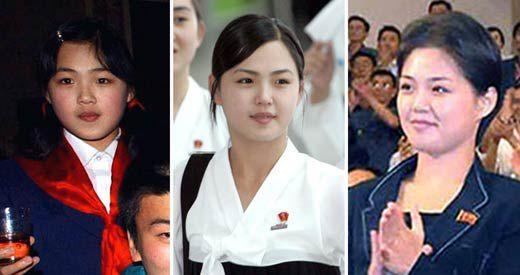 김정은 북한 국무위원장의 부인 리설주