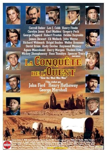 La Conquête De L'ouest Film : conquête, l'ouest, Conquête, L'Ouest