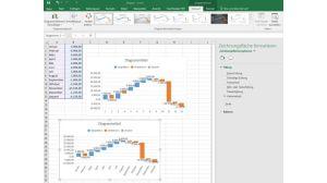 Excel 2016: Moderne Diagramme in Excel 2016 erstellen