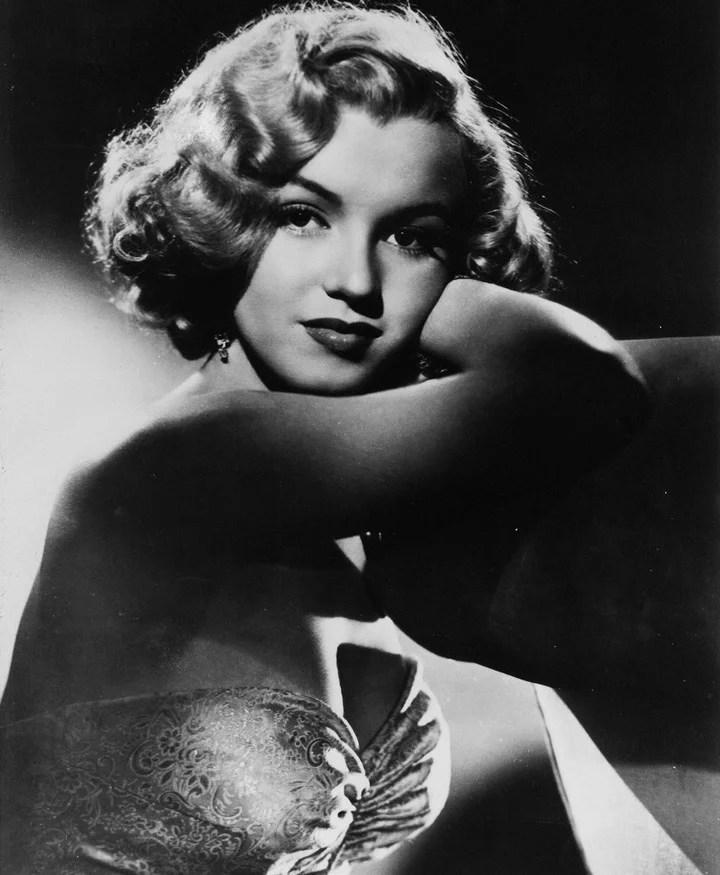 Marilyn cuando comenzaba su carrera. Foto: AP