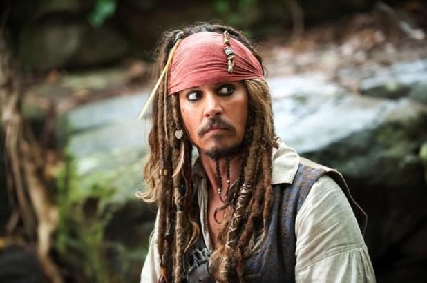 """Depp , emblema de """"Piratas del Caribe"""". (AP)."""