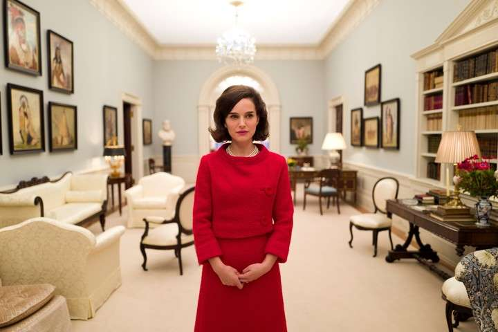 """Natalie Portman as Jackie Kennedy, in """"jackie"""".  It was his third Oscar nomination.  Photo Clarín Archive"""