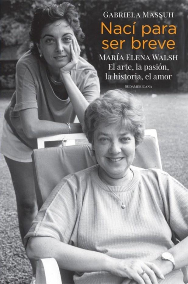 María Elena  Maria Elena Walsh nuevo libro sobre la escritora autora fallecida por un cancer foto de archivo
