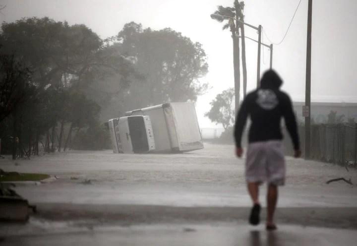 """Huracán """"Irma"""": Donald Trump declaró el estado de catástrofe natural para Florida"""