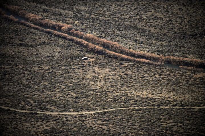 """El """"territorio sagrado"""" mapuche desde el aire: no hay casas ni santuarios y tiene vigilancia las 24 horas"""
