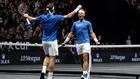RogerFederer y Rafael Nadal jugaron juntos por primera vez y no decepcionaron