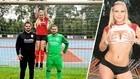 Una estrella porno será la salvación de un equipo alemán