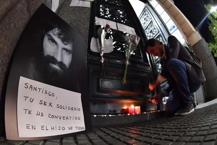 """Caso Maldonado: """"Es Santiago"""", confirmó su hermano Sergio tras reconocer el cuerpo"""