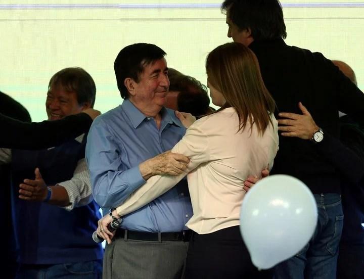 María Eugenia Vidal y Jaime Durán Barba. La gobernadora está molesta con un sector del macrismo.