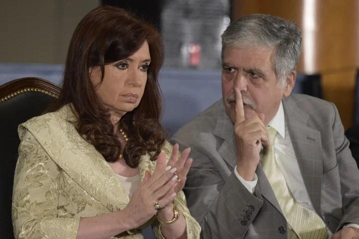 CFK y Julio De Vido. (Archivo)