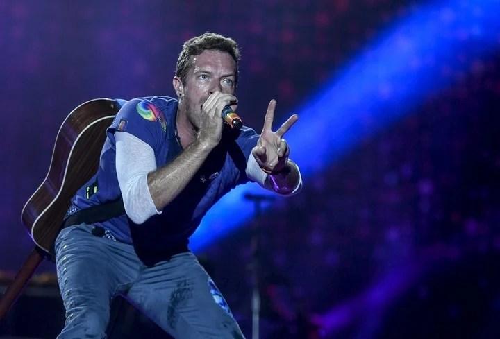 El cantante de la banda británica Coldplay, Chris Martin, participará del regreso de Soda Stereo. Foto/dpa
