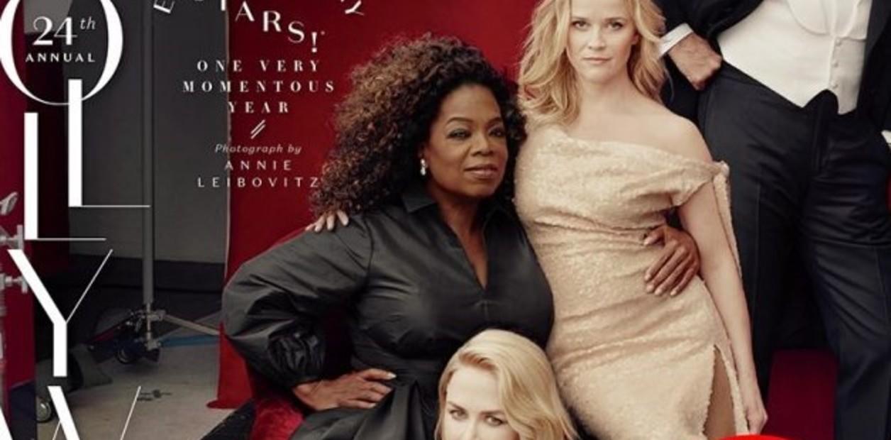 la actriz y la estrella televisiva aparecieron en la tapa de la prestigiosa revista con extremidades de mas los detalles