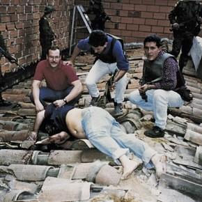 Hace 25 años, sobre un techo,  terminaba la vida del narco Pablo Escobar