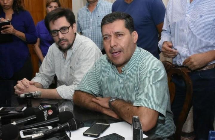 Sergio Casas llamó a referéndum para su re-reelección el 20 de enero, si es posible a la hora de la siesta riojana.