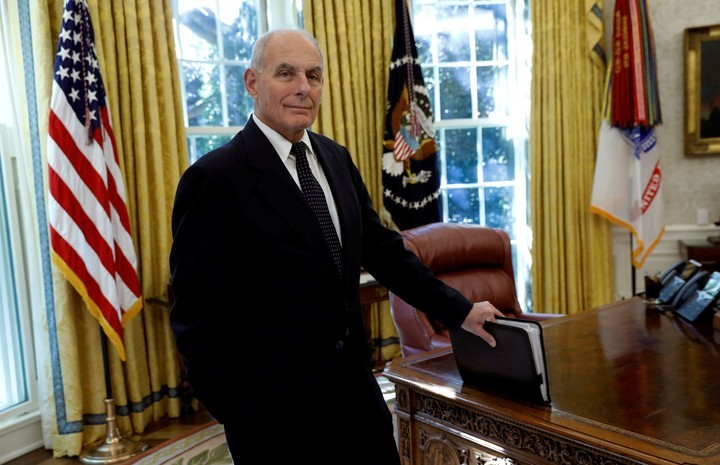 John Kelly, the former Trump Chief of Staff who is extremely critical of the former president.  Photo: REUTER