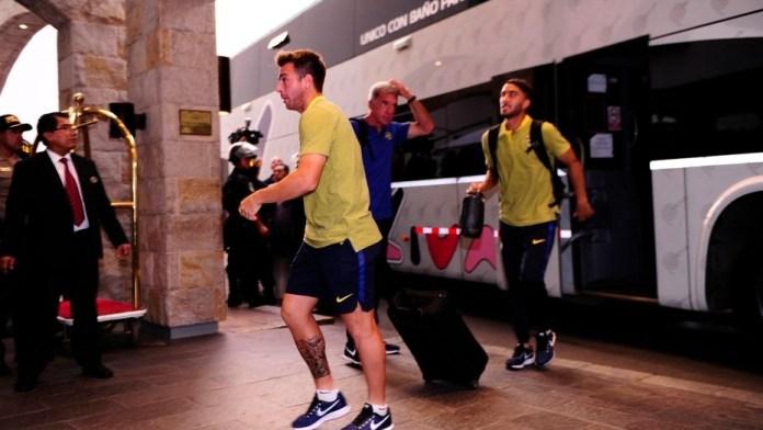 Supercopa:Fastidio en Boca el plantel tuvo que pasar por tres aviones para ir a Mendoza, Periódico San Juan