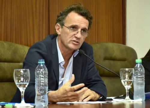 Gabriel Katopodis en el Concejo Deliberante de San Martín.