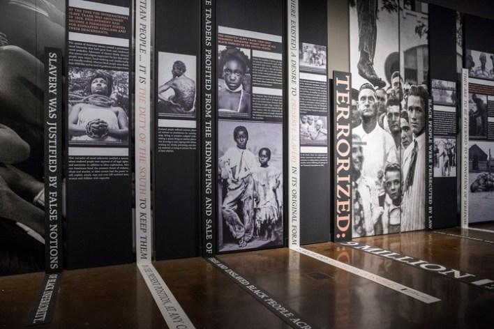 Un ala del museo dedicada a las víctimas de la supremacía blanca en EE.UU./ Audra Melton/ The New York Times