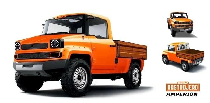 Como el modelo original, la idea es que sea un vehículo económico.