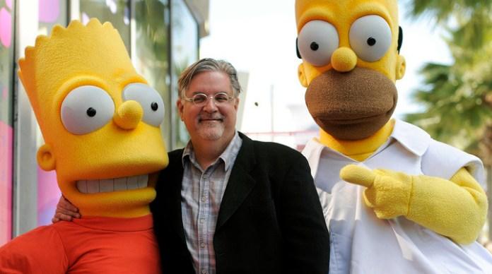 Matt Groening el creador de las series Los Simpson y Futurama, lanza su nueva historia (AP).
