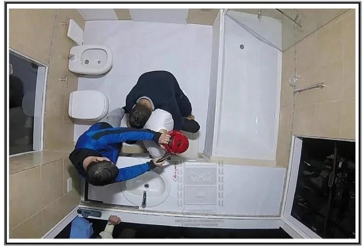 Causa Nisman : Fotos de la pericia de gendarmeria