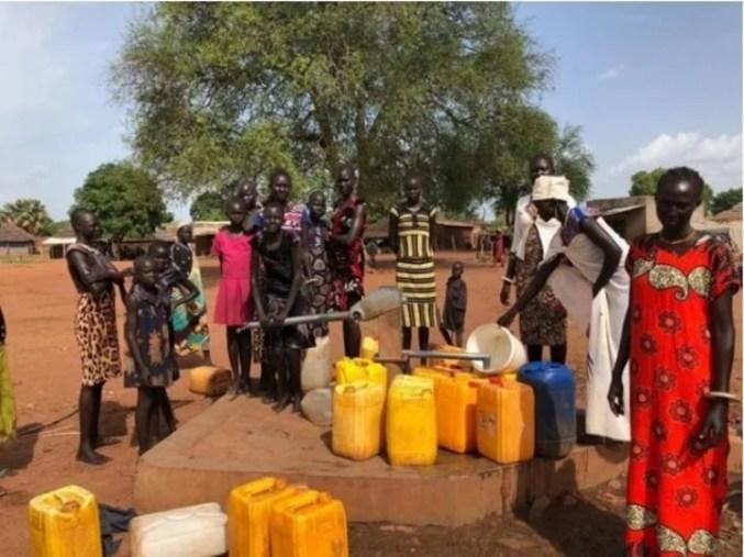La falta de agua es uno de los problemas más graves para la población de Sudán del Sur.