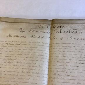 Facebook censuró la Declaración de Independencia de EE.UU.