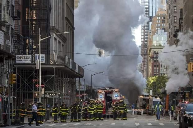 No se ha determinado la causa de la explosión del caño de 50 centímetros.