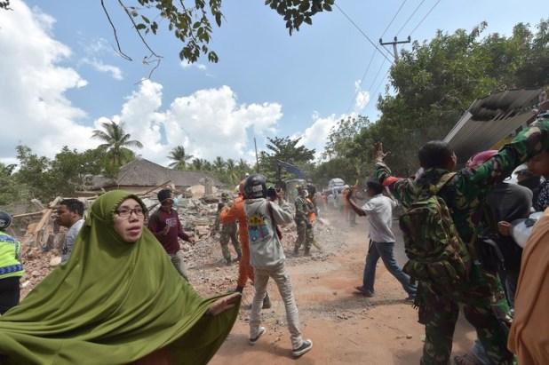Lombok viene sufriendo demasiado. (AFP)