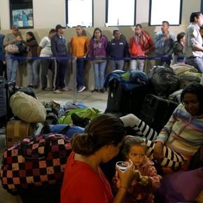 Argentina es el cuarto país que más refugiados de Venezuela recibió