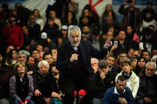 Alberto Rodríguez Saá en Ferro. Foto Fernando de la Orden.