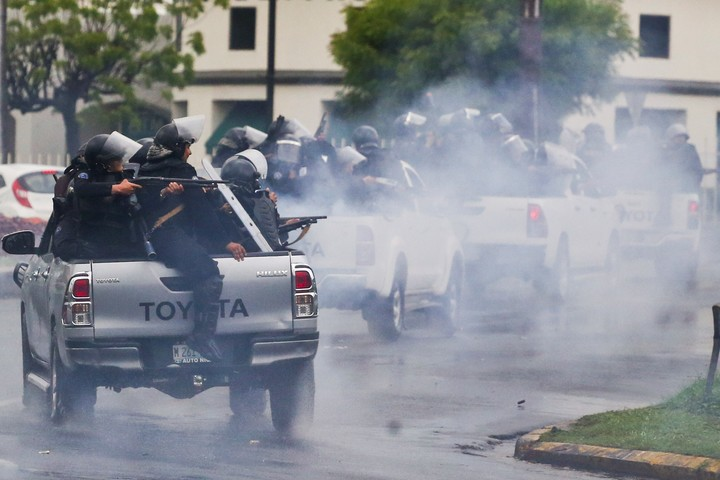 The protests against the government of Daniel Ortega in 2018 were harshly repressed.  Photo: AP