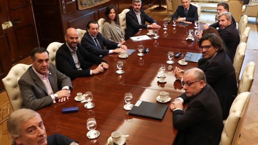 Resultado de imagen para macri gabinete 10 ministerios