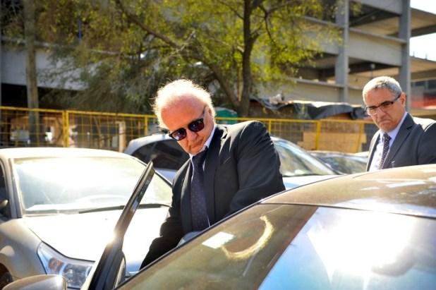 El financista Ernesto Clarens logró ser aceptado como arrepentido por Bonadio. Tras su tercera declaración indagatoria, el juez finalmente homologó el acuerdo que había firmado el fiscal Stornelli. Foto. Maxi Failla