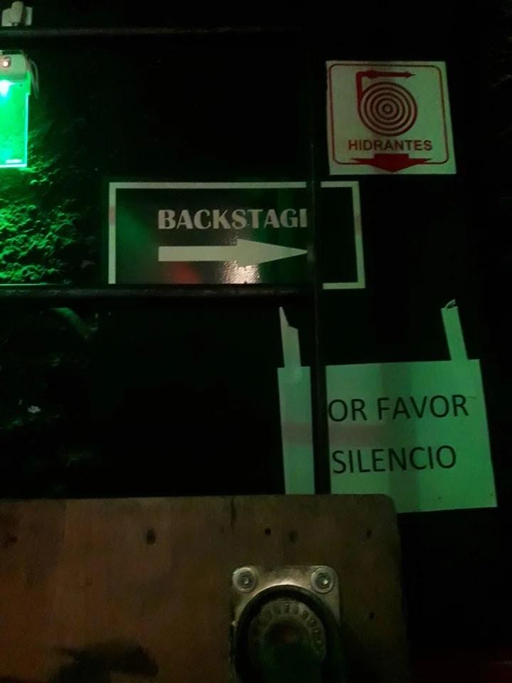 El backstage del recital de Axel en el Gran Rex.